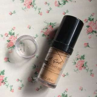 LA Girl Pro Coverage HD Foundation TRIAL size