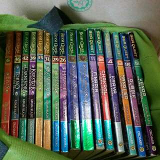 15 Assorted Beast Quest and Sea Quest for sale