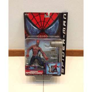 Marvel ToyBiz Spider-man Movie Leaping Spiderman MOSC. What you see is what you get.