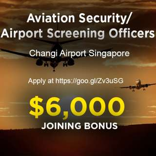 Changi Airport Screening Officers