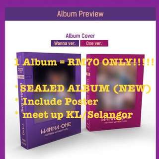 [PRE ORDER] Wanna One Nothing To You Album
