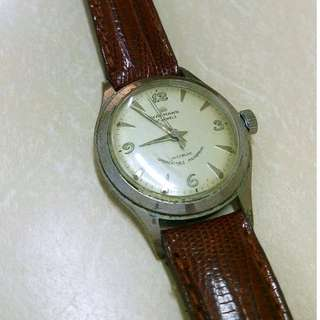 Vintage Wakmann Manual Wind French Watch