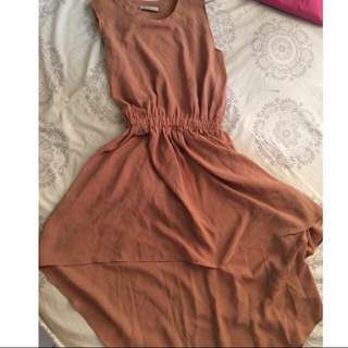 Nyla assymetric dress