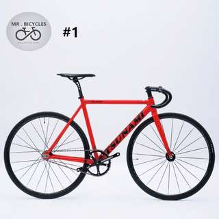 Tsunami SN-M100 , Fixed gear - Pro light,High specification, AL alloy Frameset,best choose for all beginner and mid level player.