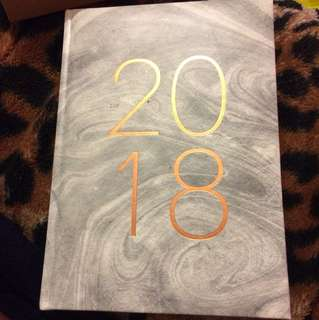 Grey 2018 notebook