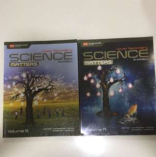 Science matters lower secondary