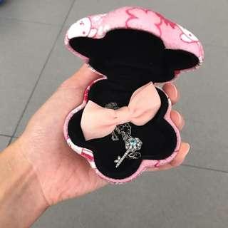 🆕Cute Japanese Sakura jewelry case from Japan