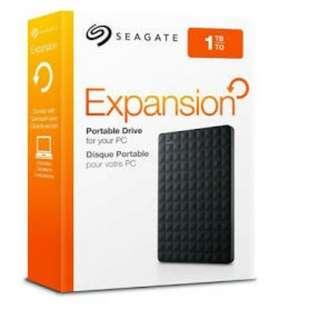 Seagate Expansion 1TB Hard Drive