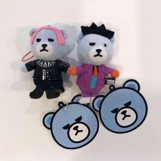 Bigbang GD TOP 熊吊飾
