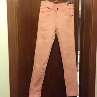 Pink Cutie Fleece Warm Pants Trousers