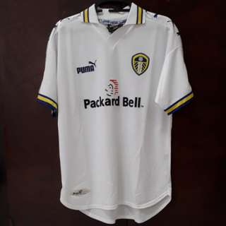 1998-2000 Leeds United Home Kit