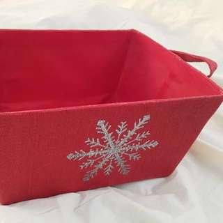 收納盒 聖誕 basket
