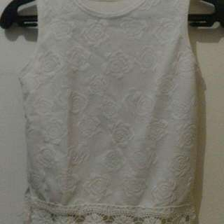 Preloved White Tank Top