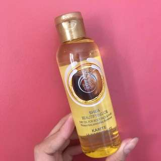 Body Shop Shea Beautifying Oil (New)