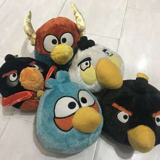 Angry bird collectibles