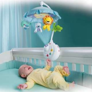 Preloved FIsher Price Precious Planet™ 2-In-1 Projection Musical Mobile with extra Freebies!
