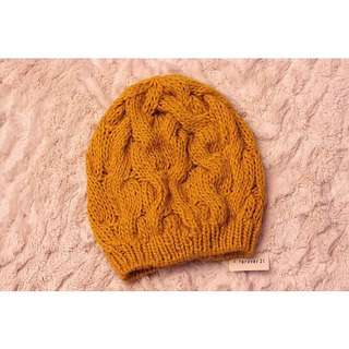 F21 Cable Knit Beanie