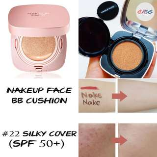 BN Nakeup Face Coverking Powder Cushion #22 Silky Cover