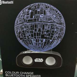 Star Wars Deathstar Bluetooth speaker colour changing