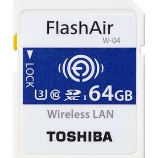 Toshiba FlashAir SDHC C10 無線功能記憶卡(Wi-Fi SD卡) 16GB/32GB/64GB