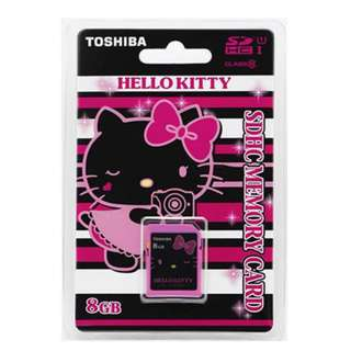 Toshiba Hello Kitty 限量珍藏版 SD / USB FLASH 8GB