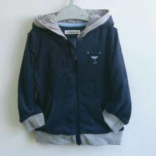 Boy's terry knitted hoody jacket (Hood lined)