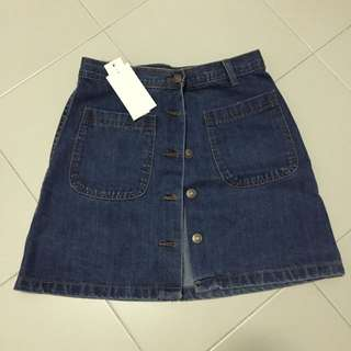 Jeans Skirt with bottoms