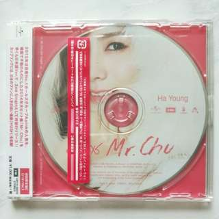 Hayoung Japanese 'Mr Chu' Album (limited edition individual member)