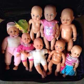 Sum Sum, Zapf, and Ts Baby Dolls