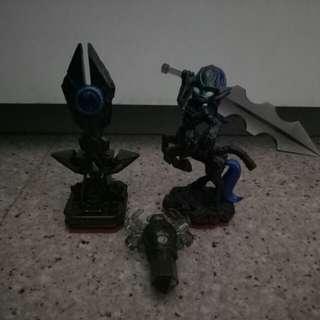 Skylanders trap team knight mare