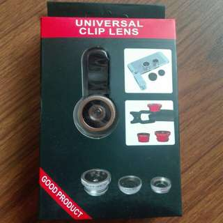 Gold Universal Clip Lens
