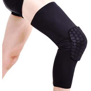 Leg Sleeve Honeycomb Pad Basketball Sport Safety Gear