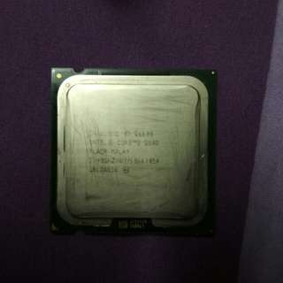 Intel Core 2 Quad Processor 2.4ghz (Q6600) with intel heat sink fan, plus Mobo - ASUS P5Q SE/R