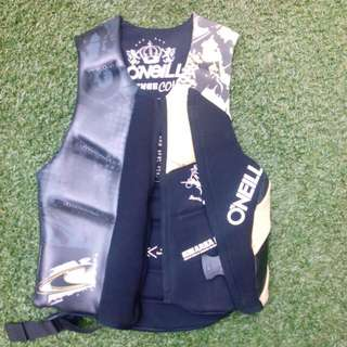 O'Neill Ski Vest For Wakeboarding Waterskiing. X-Small