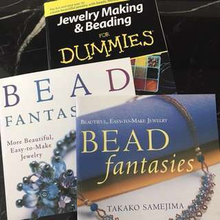 Lot of Beading Books