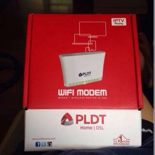 PLDT WIFI MODEM WITH BUILT IN ROUTER