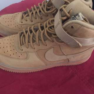 Nike Air Force one Flax size 9 Mens
