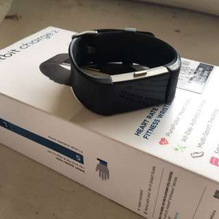 Fitbit charge 2 with box black small s strap