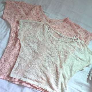 Forever 21 lace tops