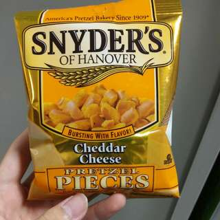 Snyder's Cheddar cheese 小吃 小食