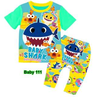 Baby Shark baby pyjamas set