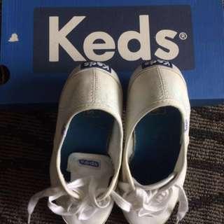 Original Keds Champion White Canvas Shoes