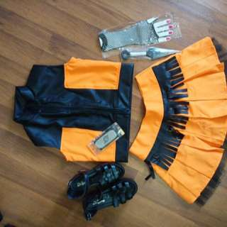 Role play suit - Naruto (whole set include of accesorries and shoe)