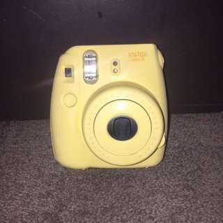 Baby Yellow Instax Polaroid