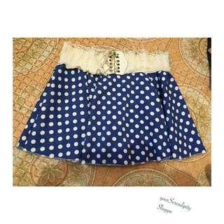 polka dots skirts