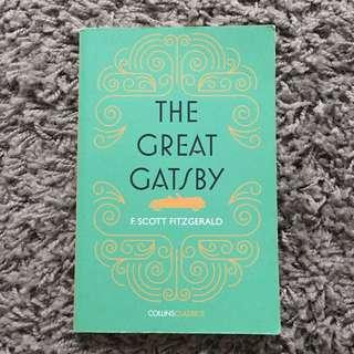 """""""THE GREAT GATSBY"""" - F.Scott Fitzgerald"""