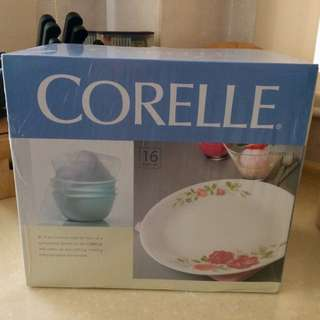 ✈️RELOCATION SALE: Corelle Rosabelle 16pc Set