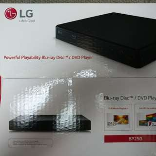全新 LG 藍光機 Blu-ray BP250