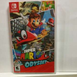 (BN) Nintendo switch super Mario odyssey and deal at orchard mrt station.