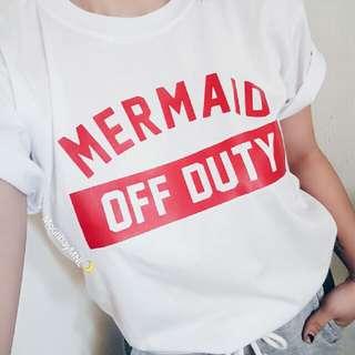 Mermaid Off Duty Tee